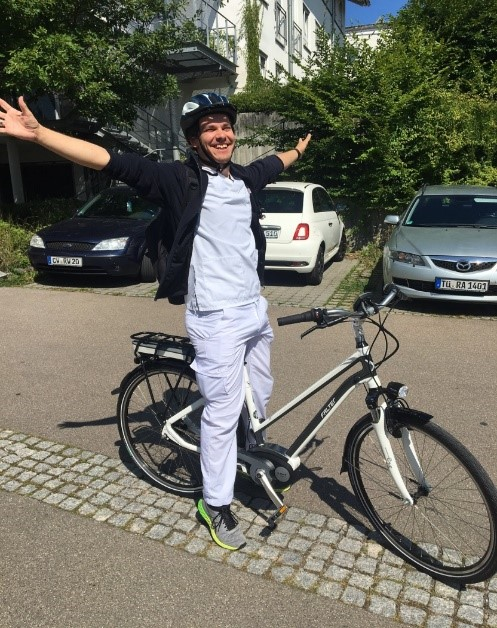 E-Bike der Diakoniestation