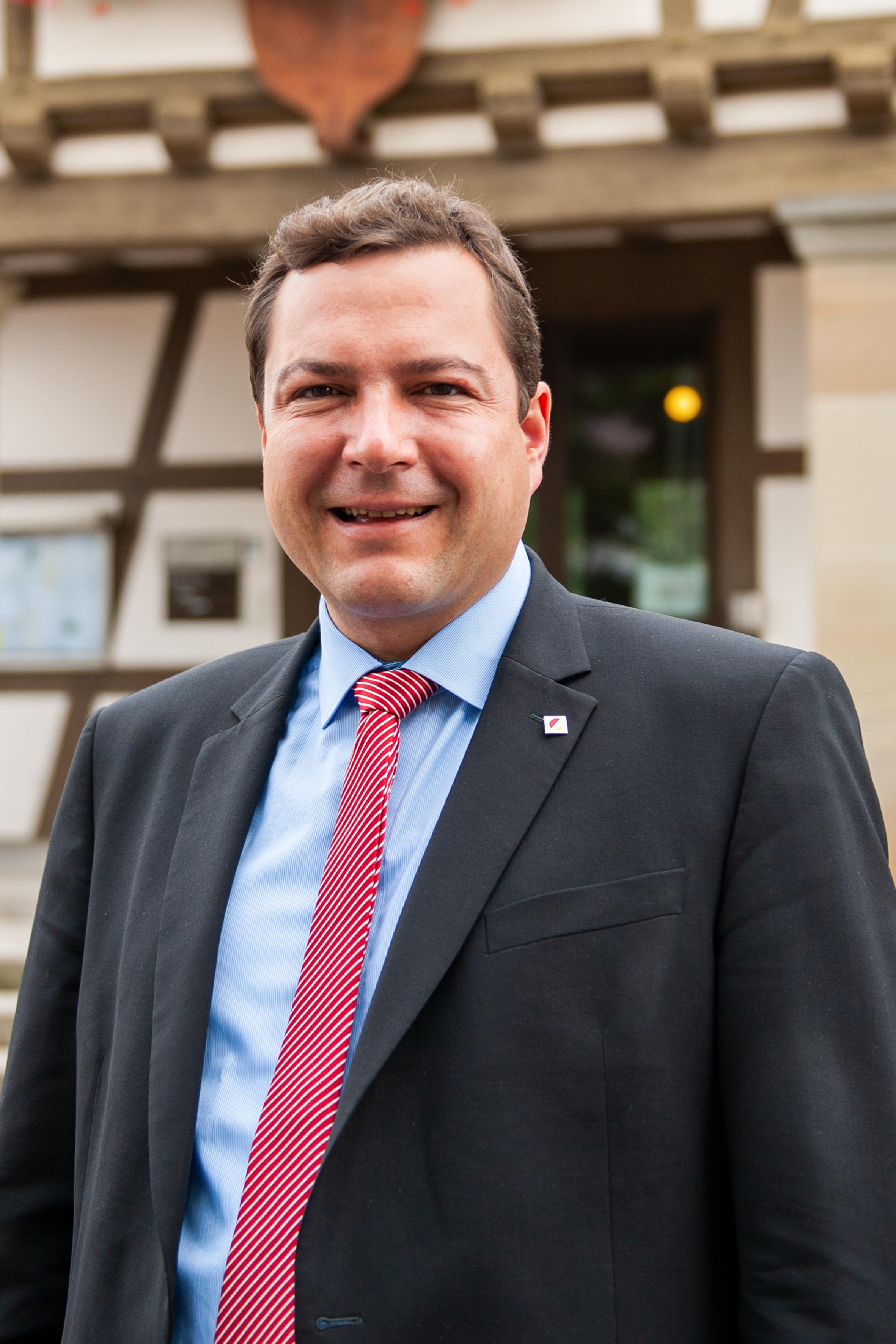 Bürgermeister Thomas Riesch